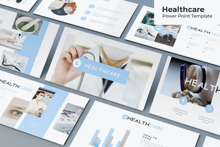 Thumbnail for Healthcare - Powerpoint Template