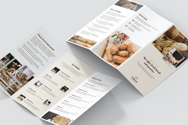 Thumbnail for Brochure – Bakery Tri-Fold