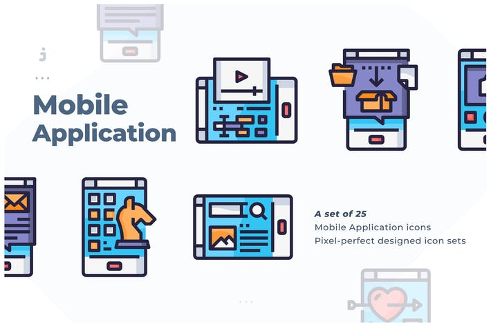 Thumbnail for 25 Mobile Application Icon