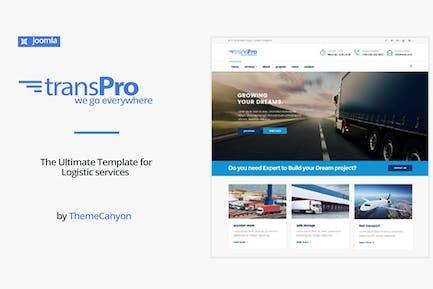 TransPro - Transport & Trucking Logistics Joomla T