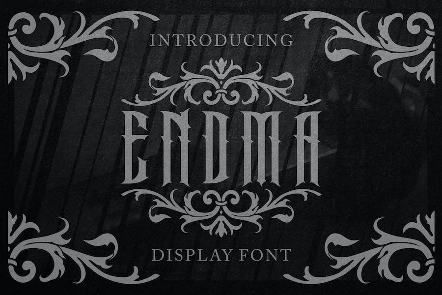Endma Display Font