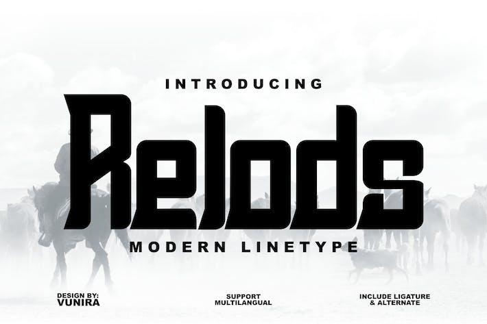 Thumbnail for Recargas | Tipo de línea moderno