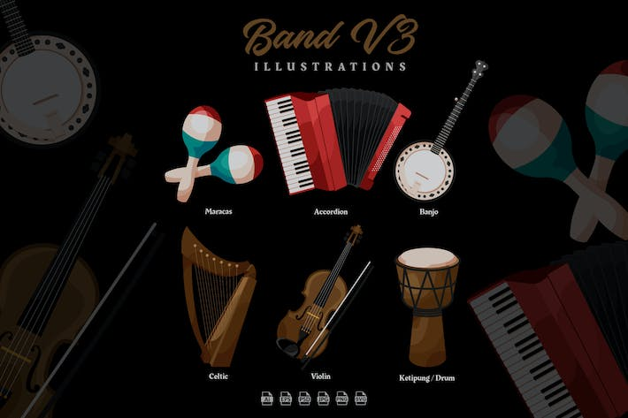 Band V3 - Illustrations