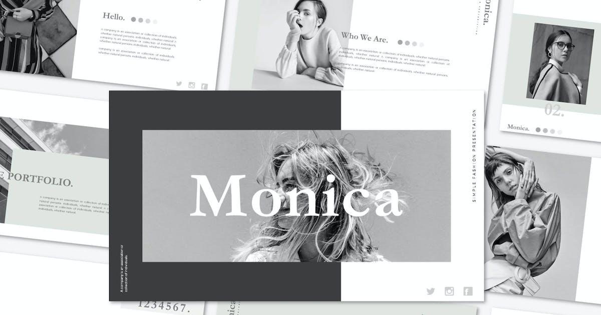 Download Monica - Keynote Template by axelartstudio