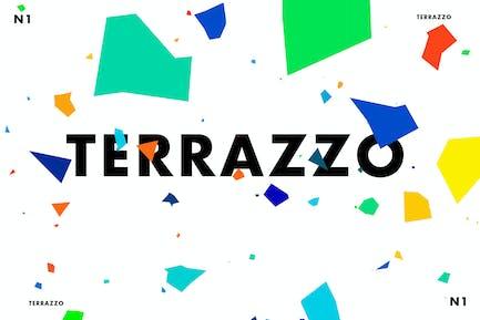Terrazzo One Vector Graphics Set
