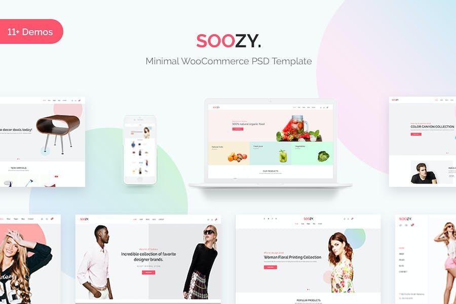 50+ Free Responsive HTML5 E-commerce Website Templates