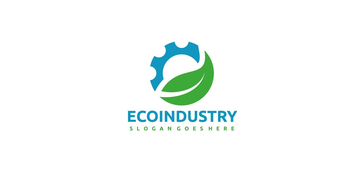 Download Eco Industry Logo by 3ab2ou