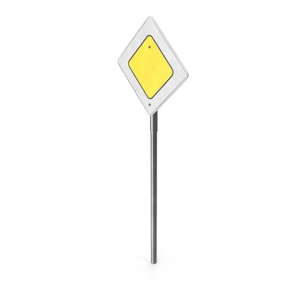 Yellow Caution Sign