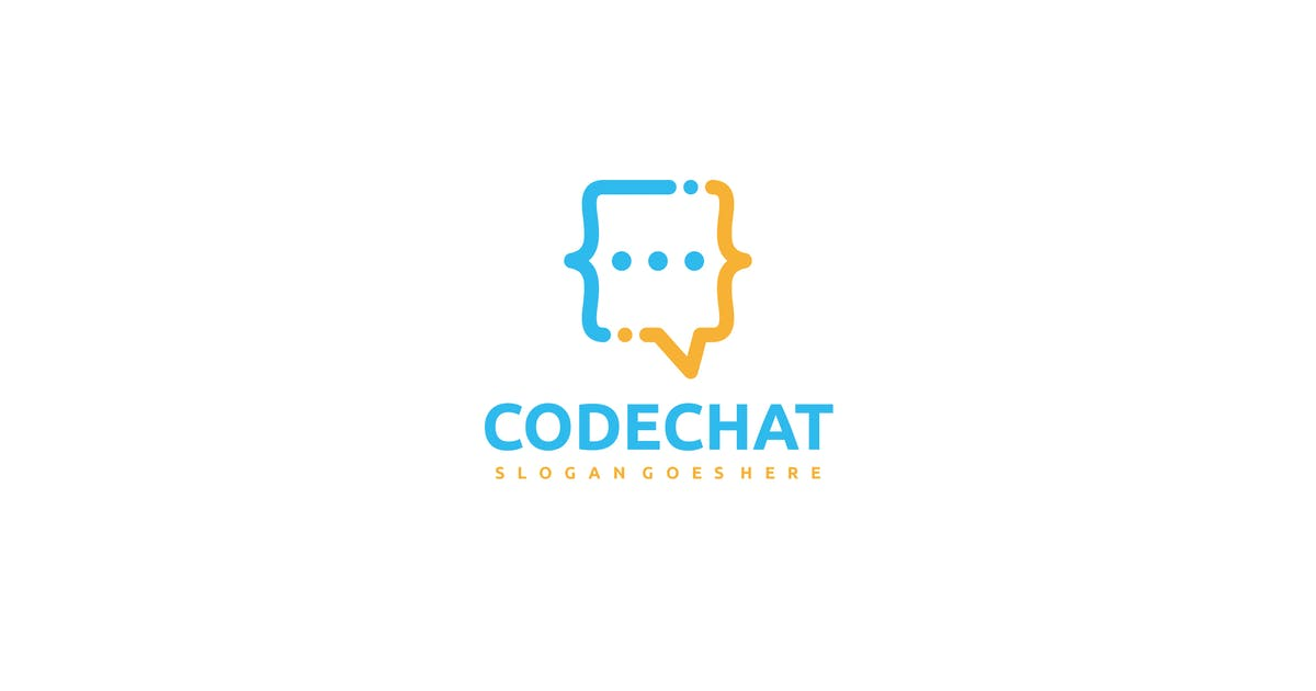 Download Code Chat Logo by 3ab2ou