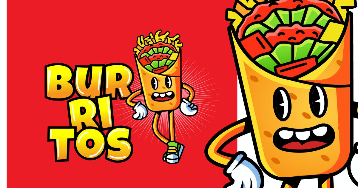 Download BURRITOS - Mascot & Esport Logo by aqrstudio