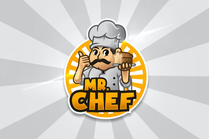 Thumbnail for Mr Chef - Mascot & Esport Logo