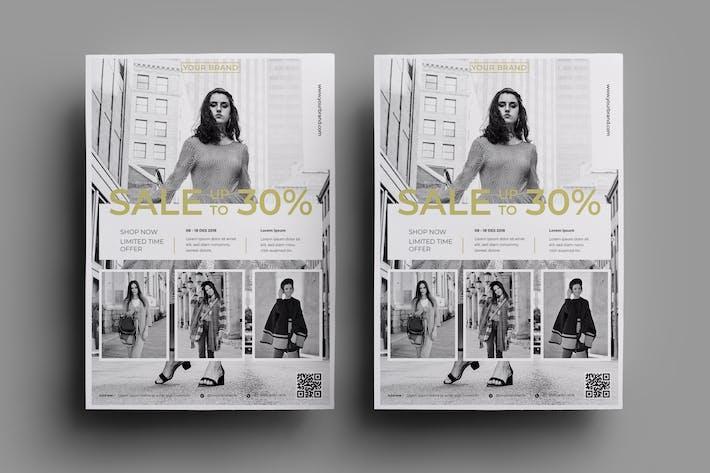 Thumbnail for Fashion Flyer Design.30