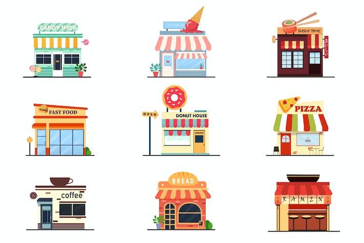 Shop-Pack-Illustrationen