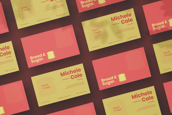 Thumbnail for Bakery Business Card
