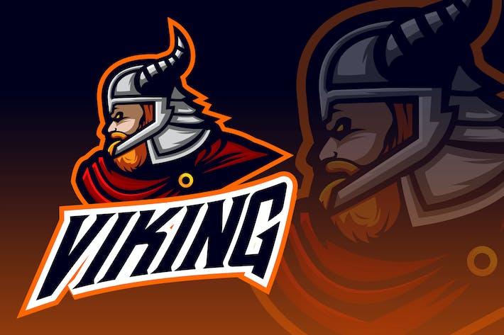 Thumbnail for Big and Strong Viking Esport Logo