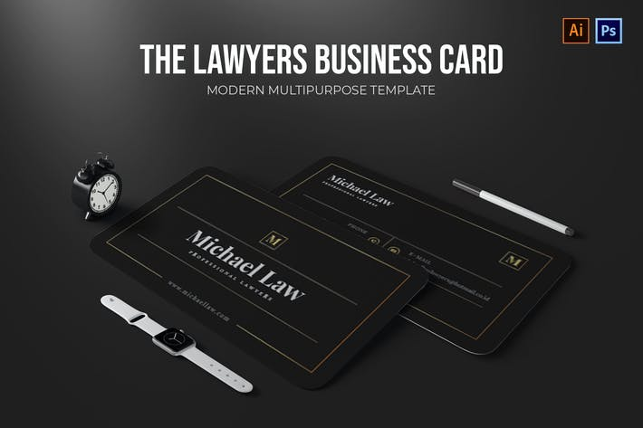 Thumbnail for Lawyers - Business Card