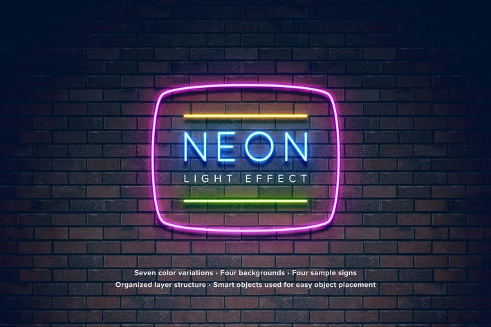 Cover Image For Neon Light Effect