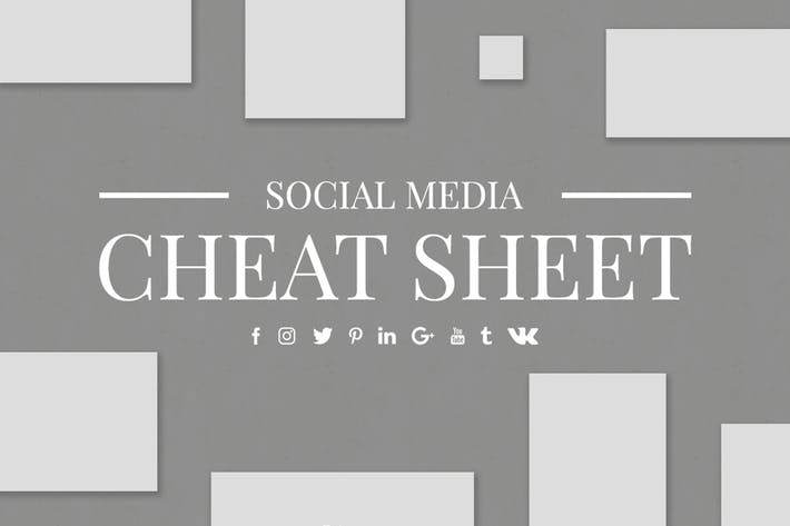Thumbnail for Social Media Cheat Sheet