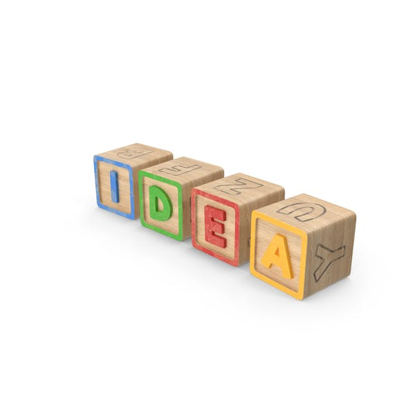 Thumbnail for Idea Alphabet Blocks