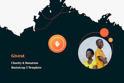 Givest - Charity Bootstrap 5 HTML Template