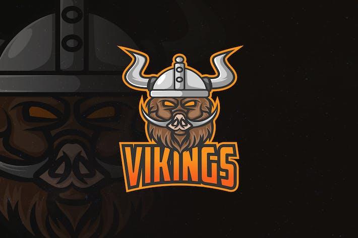 Thumbnail for Vikings - Mascot & Esport Logo