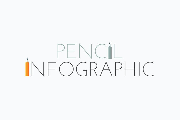 Thumbnail for Pencil Infographics