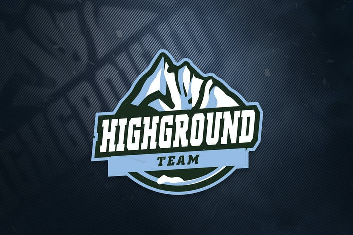 Thumbnail for HighGrpund Team Sports Logo