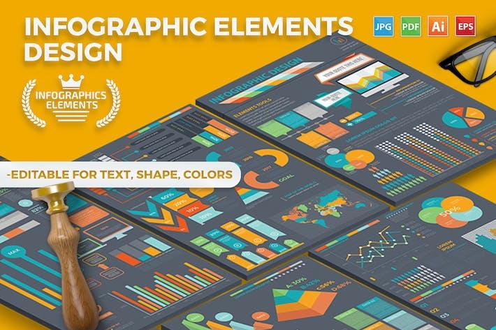Thumbnail for Проектирование инфографических Шаблон