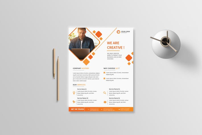 Thumbnail for Business Flyer 21