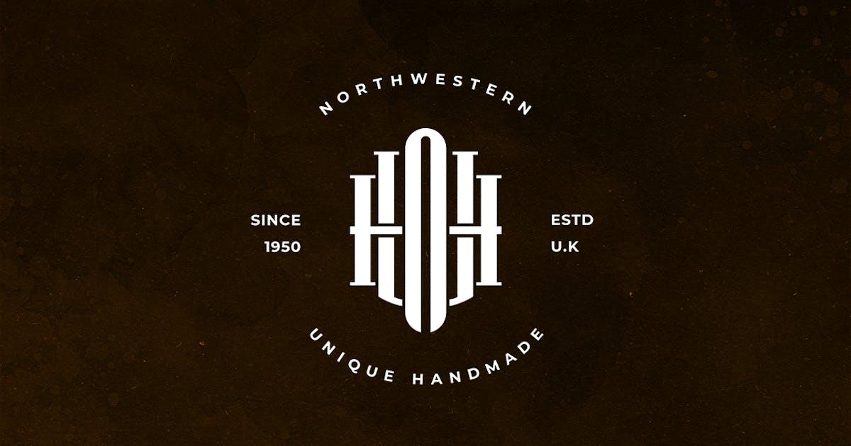 Download UNH Monogram Logo by sagesmask
