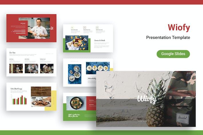 Thumbnail for Wiofy Google Slides Template
