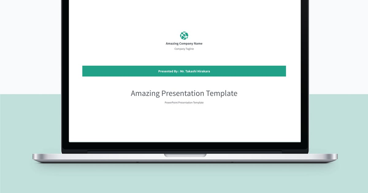 Download MINIMAL - Multipurpose PowerPoint Template V12 by Shafura