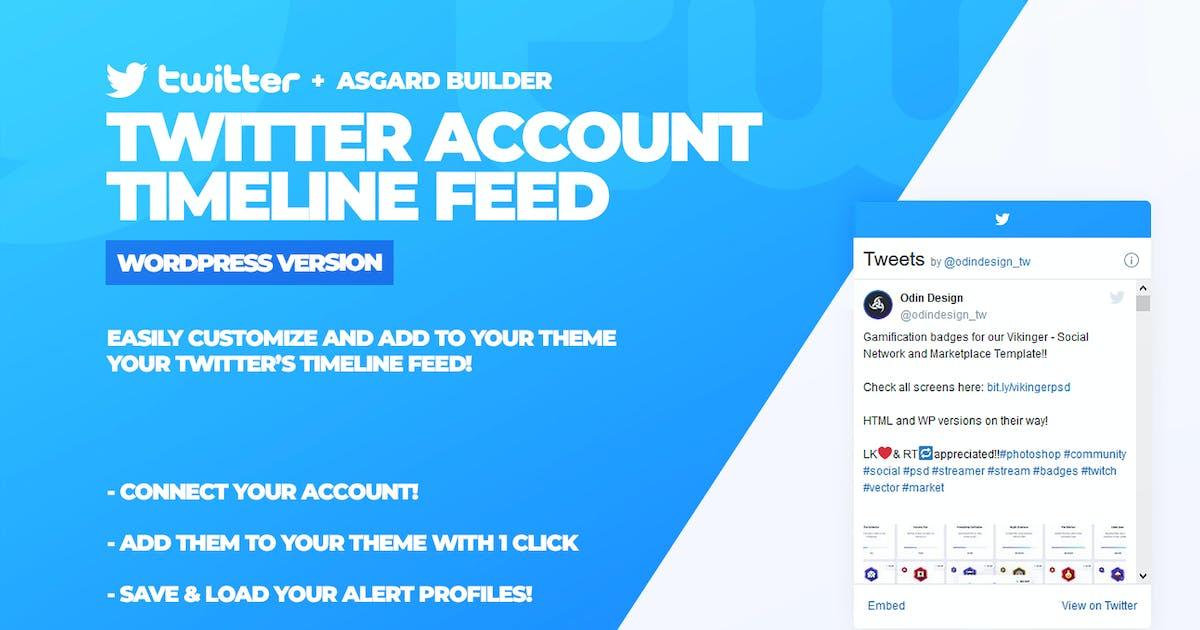 Download Twitter Timeline Feed WordPress Plugin by Odin_Design