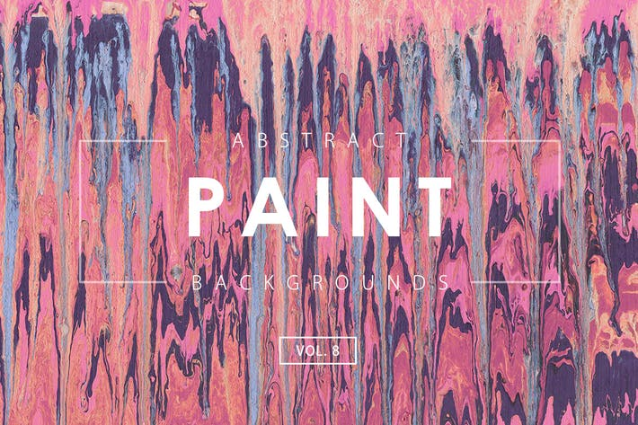 Thumbnail for Abstract Paint Backgrounds Vol. 8