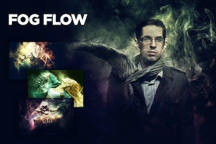 Fog Flow CS3+ Photoshop Action