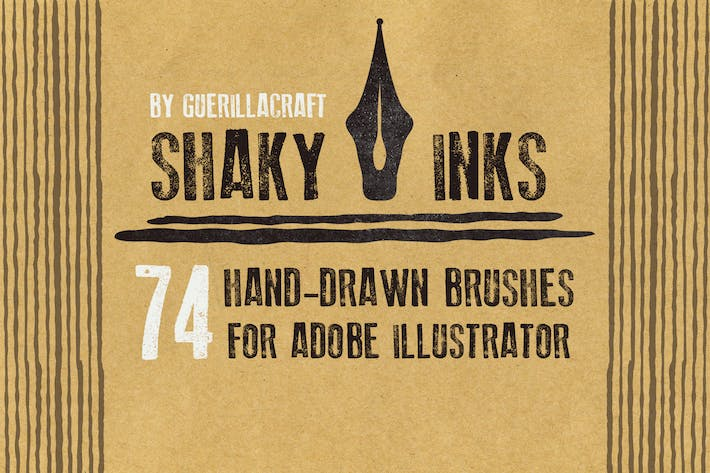 Thumbnail for Shaky Inks for Adobe Illustrator