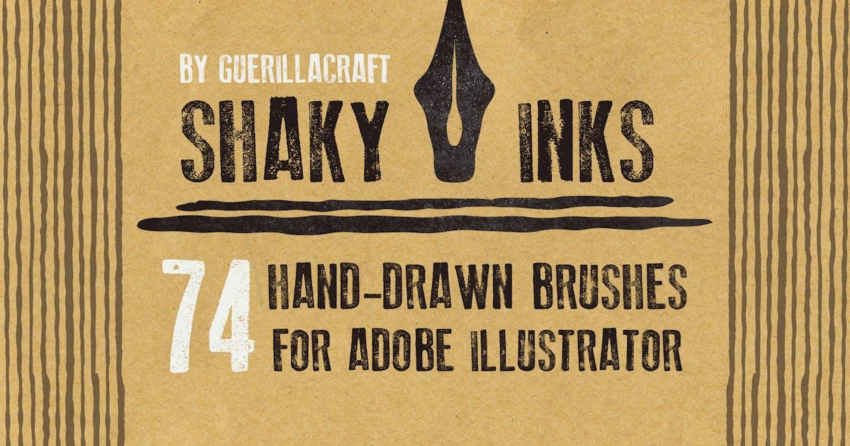 Shaky Inks for Adobe Illustrator by guerillacraft