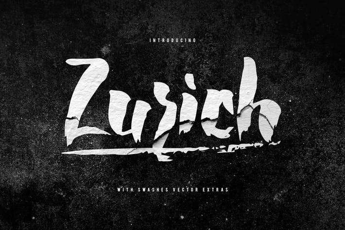 Thumbnail for Zurich Typeface