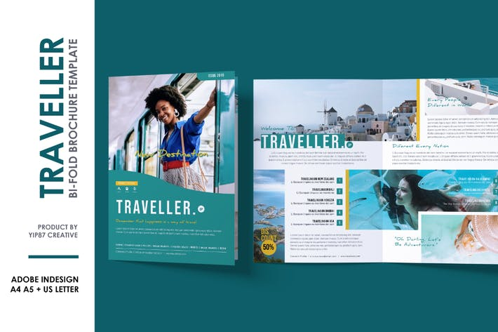 Traveller Bifold Brochure