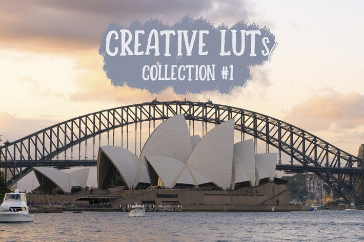 Thumbnail for Creative LUTs Collection