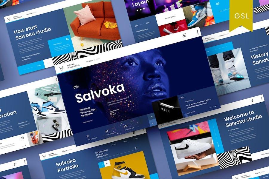Salvoka - Business Google Slide Template