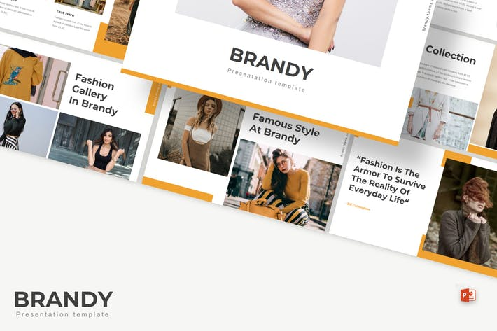 Thumbnail for Brandy - Powerpoint Template