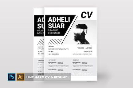 Line Hard   CV & Resume