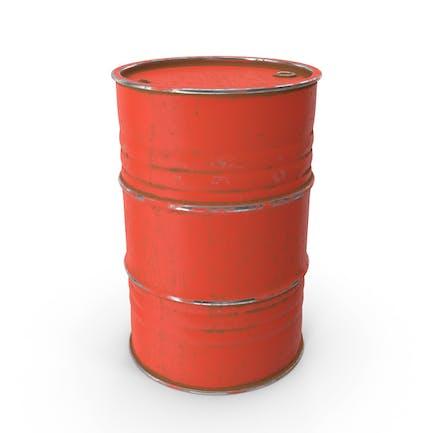 Металлический ствол красный