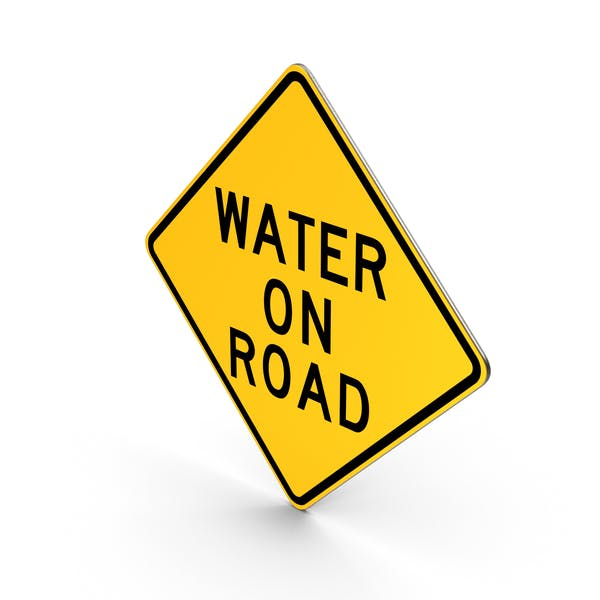 Thumbnail for Water On Road Delaware Road Sign