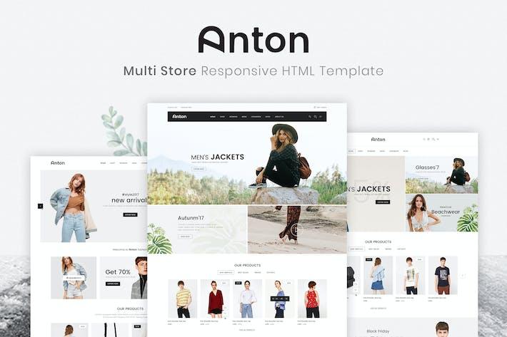 Thumbnail for Anton | Multi Store Responsive HTML Template