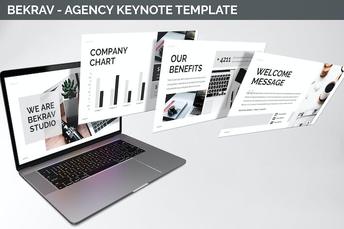 Thumbnail for Bekrav - Agency Keynote Template