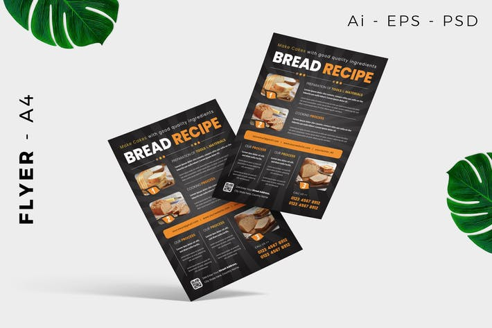 Thumbnail for Bread Recipe Poster