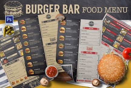 Burger Bar Menu