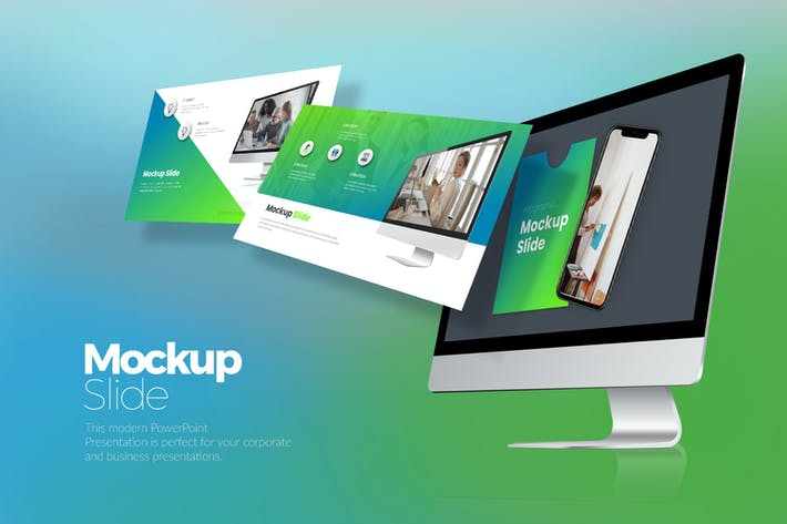 Mockup Slide Keynote Templates